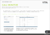 Call monitor quick reference image