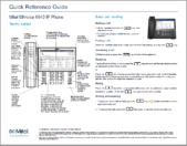 Mitel 6940 Quick Reference IMAGE