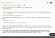 Teleworker Set-up Guide IMAGE
