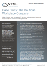 The Boutique Workplace Company Case Study Image