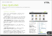call queuing tear sheet image